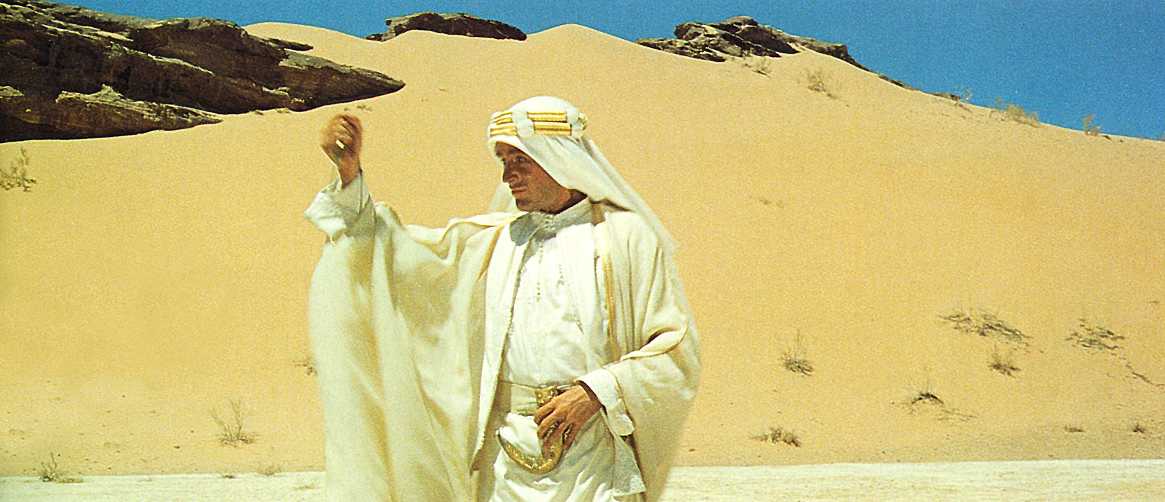 LAWRENCE OD ARABIJE, D. Lean (Peter O'Toole)